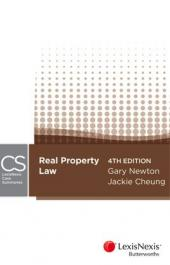 LexisNexis Case Summaries: Real Property, 4th edition cover
