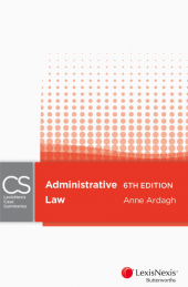 LexisNexis Case Summaries: Administrative Law, 6th edition cover