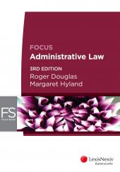 Focus: Administrative Law, 3rd edition (eBook) cover
