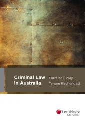 Criminal Law in Australia cover