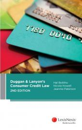 Duggan & Lanyon's Consumer Credit Law, 2nd edition cover