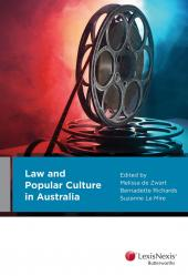 Law and Popular Culture in Australia (eBook) cover