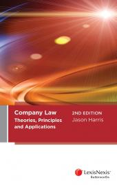 Company Law: Theories, Principles and Applications, 2nd edition cover