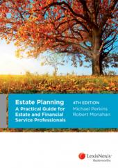 Estate Planning: A Practical Guide for Estate and Financial Services Professionals, 4th edition (eBook) cover