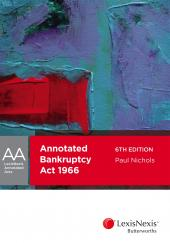 LexisNexis Annotated Acts: Annotated Bankruptcy Act 1966, 6th edition cover