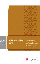 LexisNexis Questions and Answers - Administrative Law, 3rd edition (eBook) cover