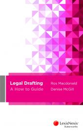 Legal Drafting - A How to Guide cover