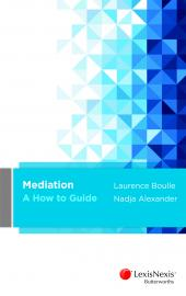 Mediation - A How to Guide cover