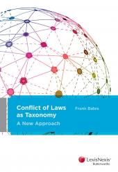 Conflict of Laws as Taxonomy: A New Approach cover