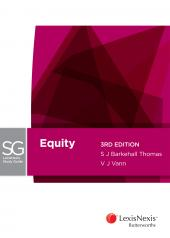 LexisNexis Study Guide: Equity, 3rd edition (eBook) cover