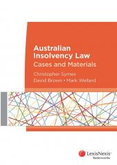 Australian Insolvency Law: Cases and Materials cover