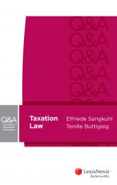LexisNexis Questions and Answers: Taxation Law cover
