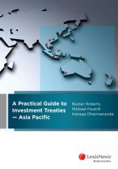 A Practical Guide to Investment Treaties – Asia Pacific cover