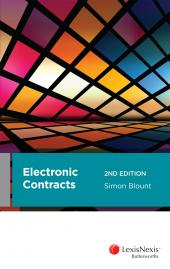 Electronic Contracts, 2nd edition cover