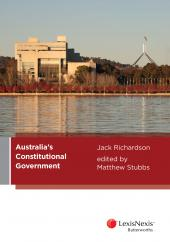 Australia's Constitutional Government cover
