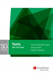 LexisNexis Study Guide Torts, 3rd edition cover