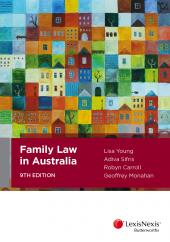 Family Law in Australia, 9th edition cover