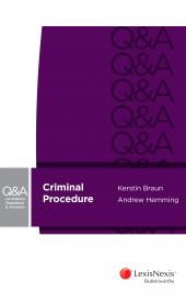 LexisNexis Questions & Answers - Criminal Procedure (eBook) cover
