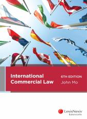 International Commercial Law, 6th edition (eBook) cover