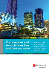 Corporations and Associations Law: Principles and Issues, 6th edition cover