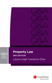 LexisNexis Questions & Answers – Property Law, 3rd edition (eBook) cover
