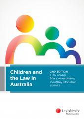 Children and the Law in Australia, 2nd edition  cover