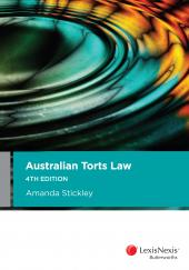 Australian Torts Law, 4th edition (eBook) cover