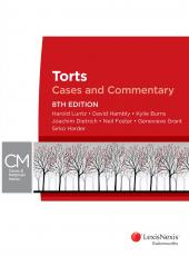 Torts: Cases and Commentary, 8th edition cover