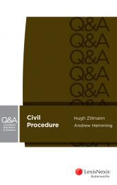 LexisNexis Questions and Answers - Civil Procedure cover