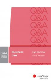 LexisNexis Questions and Answers Business Law, 2nd edition cover