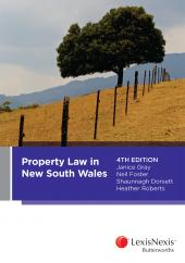 Property Law in New South Wales, 4th edition cover