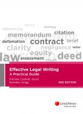 Effective Legal Writing: A Practical Guide, 2nd edition (eBook) cover