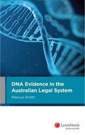 DNA Evidence in the Australian Legal System cover