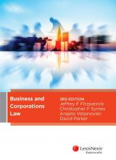 Business and Corporations Law, 3rd edition cover