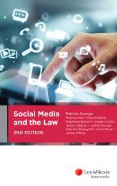 Social Media and the Law, 2nd edition cover