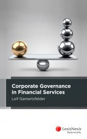 Governance and Conduct Obligations in Financial Services cover