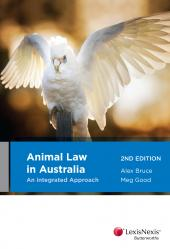 Animal Law in Australia: An Integrated Approach, 2nd edition cover