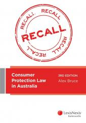 Consumer Protection Law in Australia, 3rd edition cover