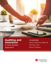 Auditing and Assurance: A Case Studies Approach, 7th edition cover