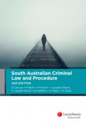 South Australian Criminal Law and Procedure, 2nd edition (eBook) cover