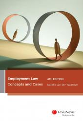 Employment Law: Concepts and Cases, 4th edition cover