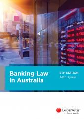 Banking Law in Australia, 9th edition  cover