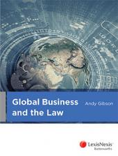 Global Business and the Law cover