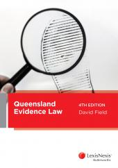 Queensland Evidence Law, 4th edition cover