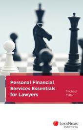 Personal Financial Services Essentials for Lawyers cover