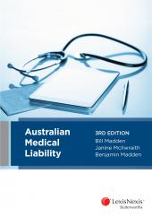 Australian Medical Liability, 3rd edition (eBook) cover