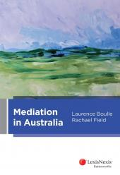 Mediation in Australia (eBook) cover