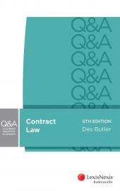 LexisNexis Questions and Answers: Contract Law, 6th edition (eBook) cover