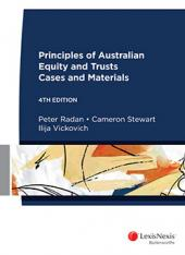 Principles of Australian Equity and Trusts: Cases and Materials, 4th edition (eBook) cover