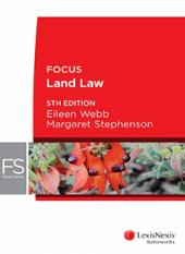 Focus: Land Law, 5th edition cover